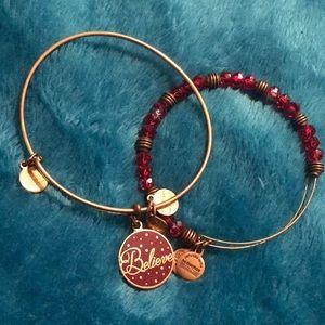 ✨Alex and Ani Believe bracelet set✨